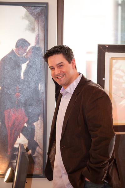 Daniel Del Orfano - Bronze Frog Gallery Event April 26, 2013