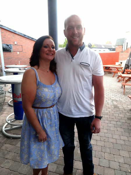 Eileen and Conor<br /> Dannys 40th Birthday 2014