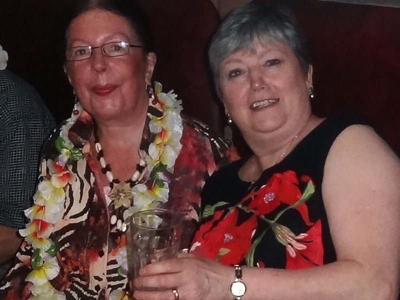 Chris and Patricia Perry<br /> Dannys 40th Birthday 2014