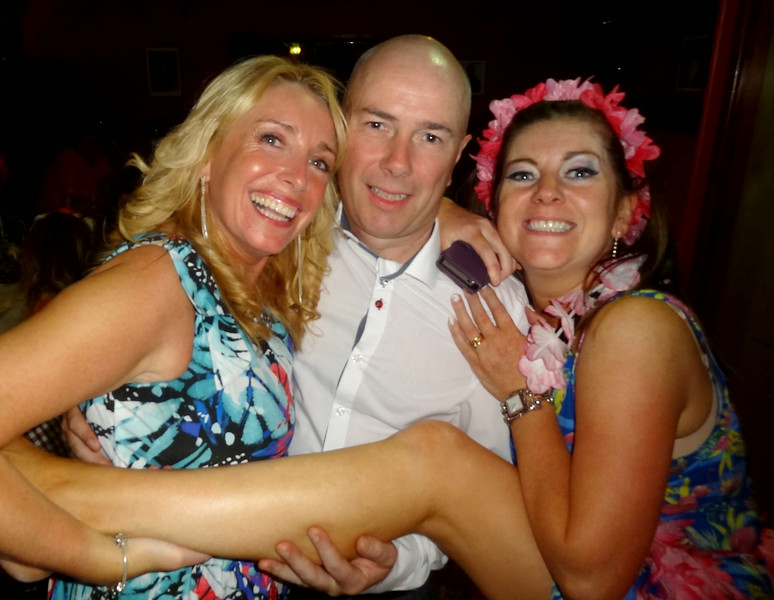 Kathryn Quinn, Stephen Perry and Christina Sloane<br /> Dannys 40th Birthday 2014