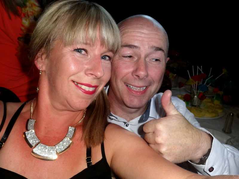 Stephen and Nuala Perry<br /> Dannys 40th Birthday 2014