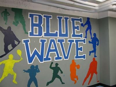Bluewavewall