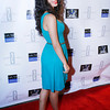 Angelic Zambrana, actress, at Darius McCrary birthday bash in West Hollywood