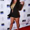 Hazel Lee at Darius McCrary birthday bash in West Hollywood