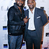 Darius McCrary at his birthday bash at Haute in West Hollywood