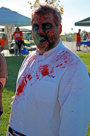 Dash of the Dead 5k Zombie Run 2012