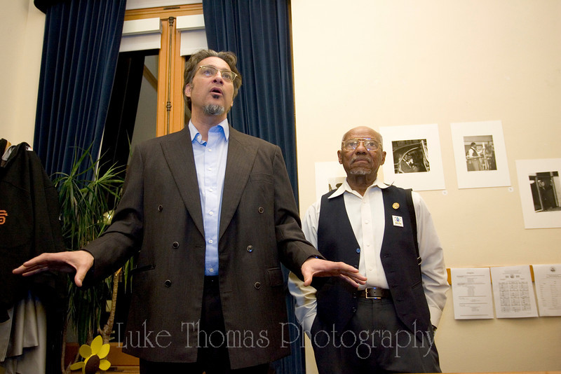 Supervisor Ross Mirkarimi and David Johnson