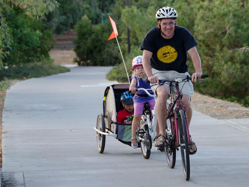 The Dave Pelz bike overcrossing