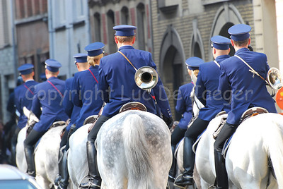 The federal mounted police performing.