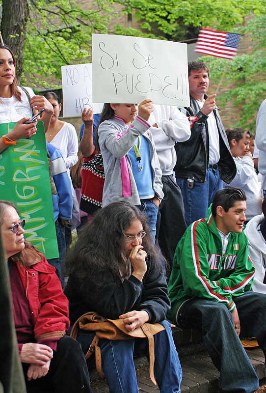 Demonstration to Legalize Undocumented Immigrants