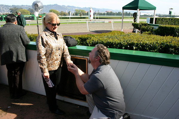 Day at the Races & Engagement Proposal