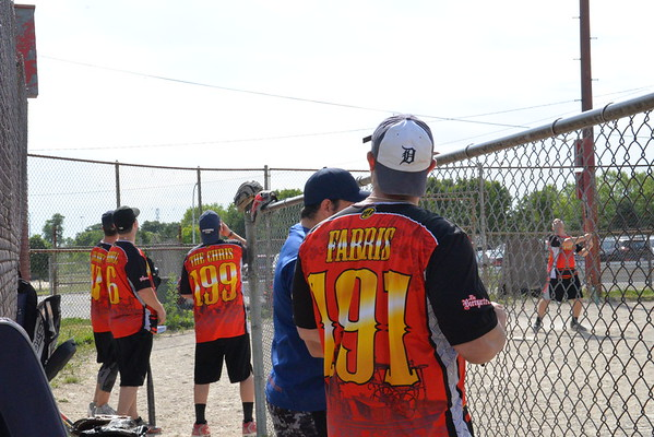 Dearborn Firefighters Burn Drive 2016 Softball tournament