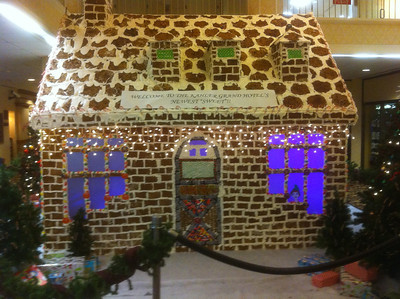 It's Real    MN largest Gingerbread house