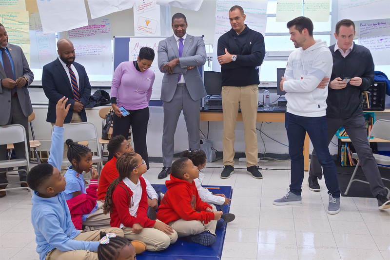December 02, 2019 - Ravens Foundation & City Schools Announcement