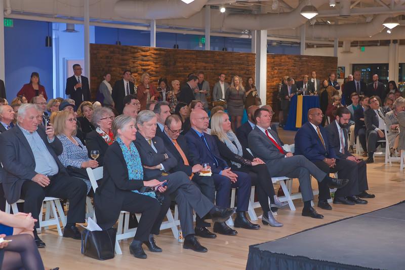December 02, 2019 - Ravens Foundation & City Schools Announcement  December 03, 2019 - EU Delegation Reception & Closing Event