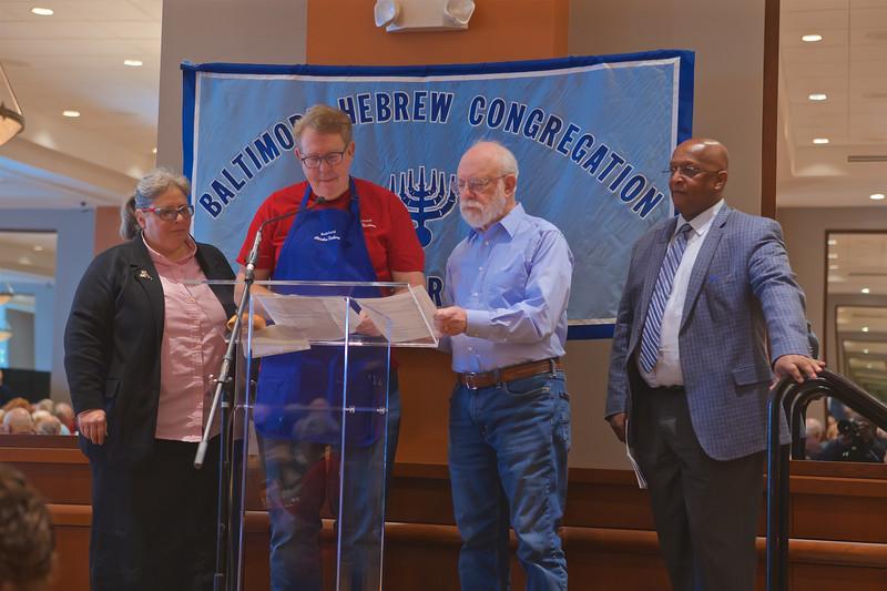December 08, 2019 - Baltimore Hebrew Congregation Brotherhood Community Breakfast