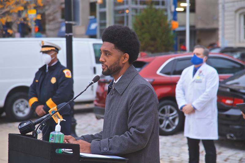 December 09, 2020 - Mayor's Press Availability