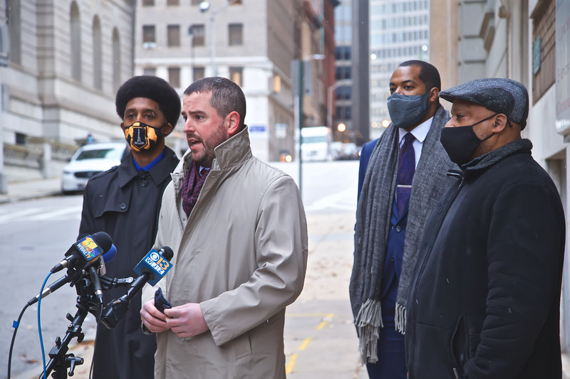 December 16, 2020 - Food Deliver Fees Press Conference with Council President Mosby and Councilman Costello