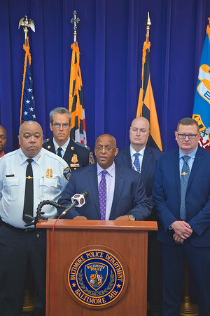 December 18, 2019 - Task Force Press Conference at Baltimore City Police Department Headquarters