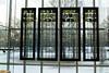 Winter through windows hung on windows: The Met