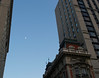 Dusk uptown with Moon