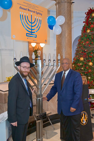 December 23, 2019 - Annual Menorah Lighting at City Hall