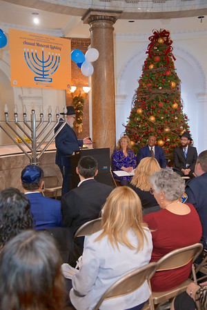 December 23, 2019 - Annual Menorah Lighting at City Hall
