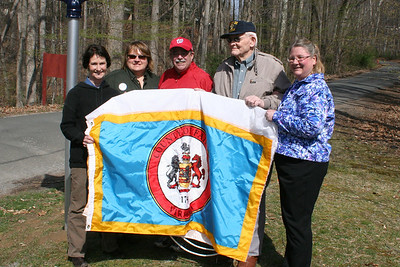 Dedication of historical sign for the 75 Anniversary of the formation of the Civilian Conservation Corp