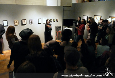 Dee Dee Ramone - Birthday Memorial Art Show - Los Angeles, CA - September 18, 2010