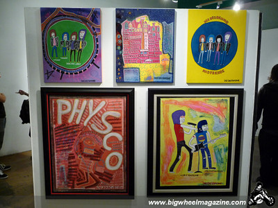 Dee Dee Ramone - Birthday Memorial Art Show - Los Angeles, CA - September 18, 2010