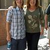 Blake and his Auntie Dana.
