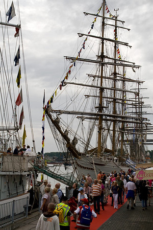 Delfsail - Tall Ships Event in Delfzijl - The Netherlands