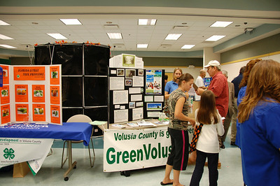 Lyonia Environmental Center Green Volusia Display © Nora Kramer. All rights reserved.