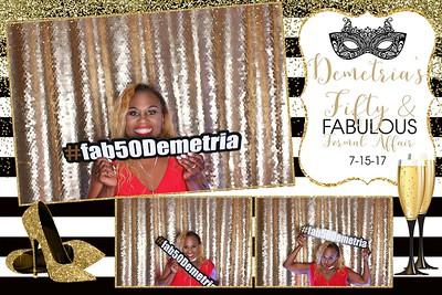Demetria's Fifty & Fabulous Affair 7-15-17