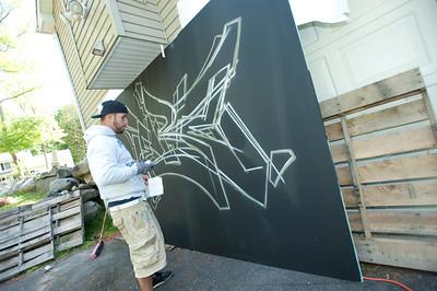 Den Bro Graffiti Wall  08.23.13