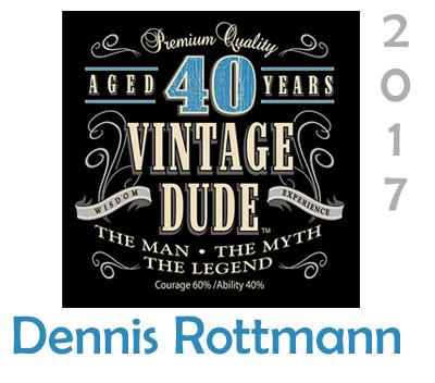 Dennis Rottman 40th Party