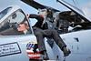 A-10 Flight Demo Team Ground Crew Preps Plane