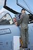 A-10 Pilot giving Tour