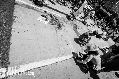 Photographer Brandi Hill documents the Denver Chalk Art Festival