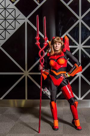 Red Eva Spear of Longinus - Neon Genesis Evangelion