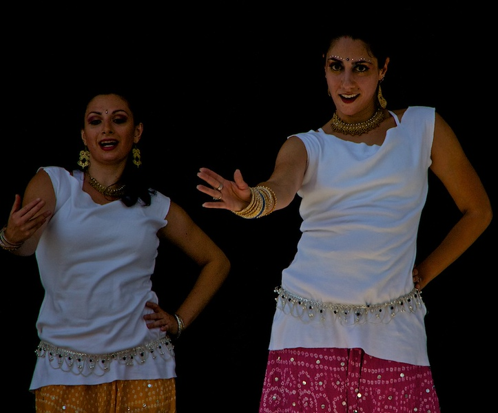 Bollywood dancing