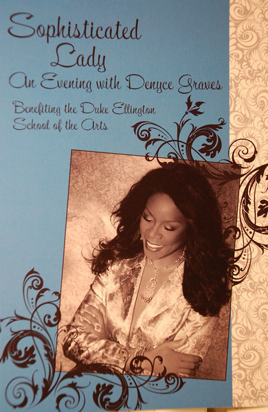 Denyce Graves at Cafe Milano for Duke Ellington School