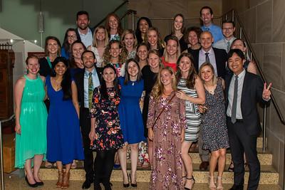 Department of Pediatrics Completion Dinner 2018