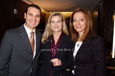 Ivan Kapriellian, Kristin Westerhoff, Hamida Belkadi photo by Rob Rich © 2007 robwayne1@aol.com 516-676-3939