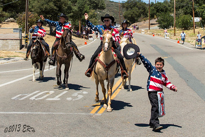 The Tijuana River Valley Equestrian Association made a showing today.