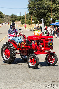 Cool ole Farmall tractor.  This thing was bright, shiny red.  Pretty much an immaculate example of tractors of the 1940 era.