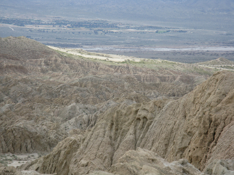 The Borrego Sink is the white section.