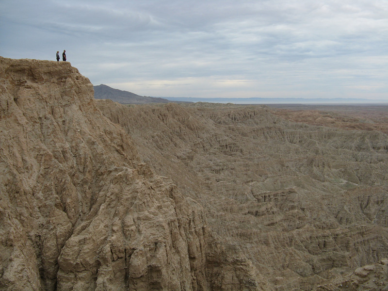 People over on another ledge at Font's Point.