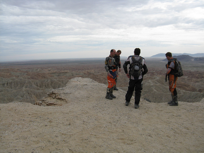 Checking out the view at Font's Point.