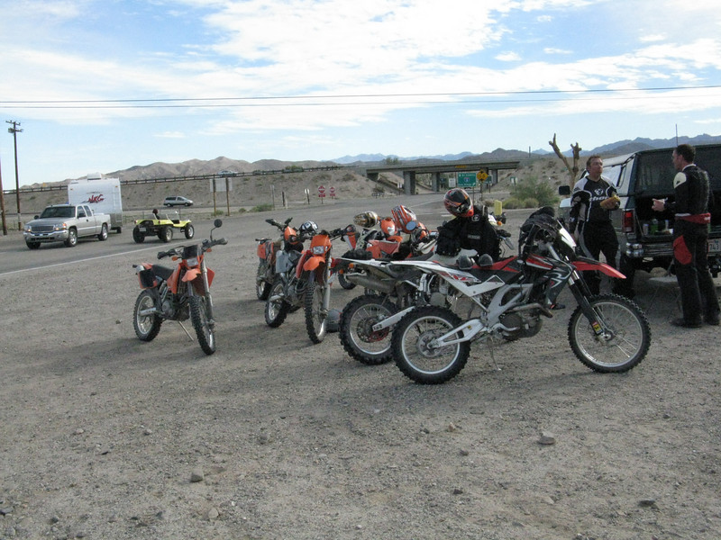 Our lunch stop was in Ocotillo at the trading post.